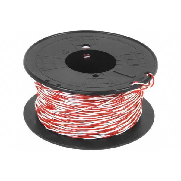 bobine de cable t l phonique syt 1 paire 5 10 blanc rouge 100m 5 10eme conditionnement. Black Bedroom Furniture Sets. Home Design Ideas