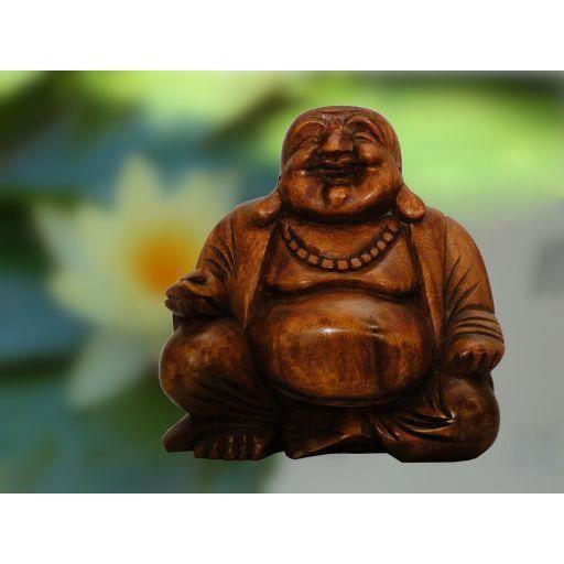 Gros bouddha chinois en bois a achat vente statue for Vente bois flotte gros
