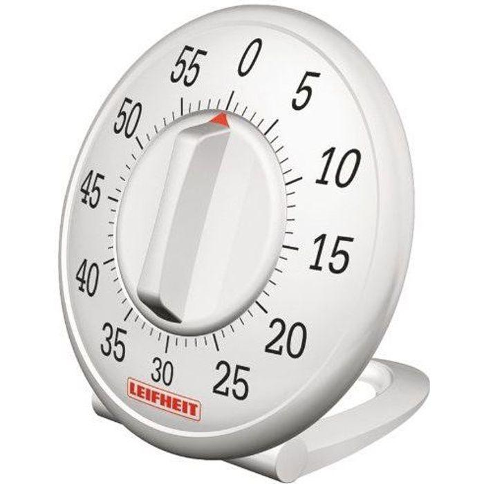 Leifheit 22600 comfortline minuteur m canique achat - Minuteur 2 minutes ...