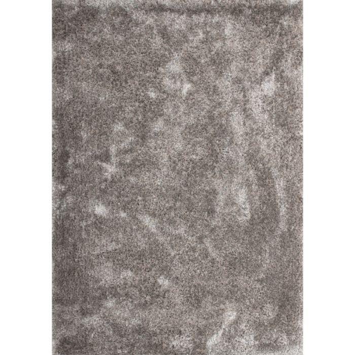 tapis shaggy 200 x 290 argent lalee monaco achat vente tapis cdiscount. Black Bedroom Furniture Sets. Home Design Ideas