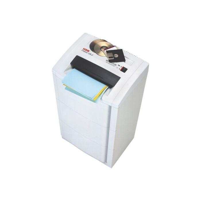 hsm classic 125 2 destructeur de documents co prix pas cher cdiscount. Black Bedroom Furniture Sets. Home Design Ideas