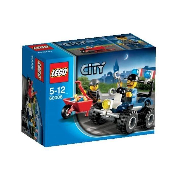 Lego city 60006 le 4x4 de la police sp ciale 60006 achat vente assemblage construction - Image lego city ...