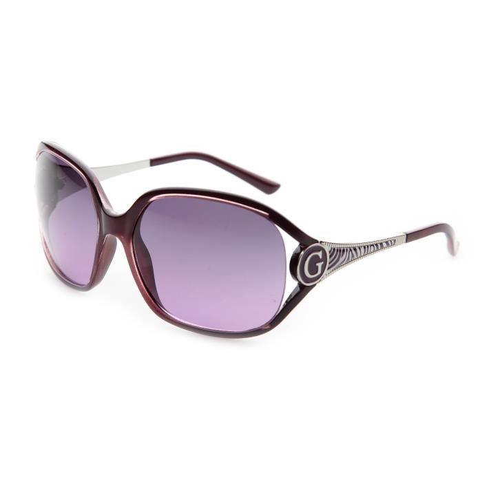 lunettes de soleil femme guess bordeaux achat vente. Black Bedroom Furniture Sets. Home Design Ideas