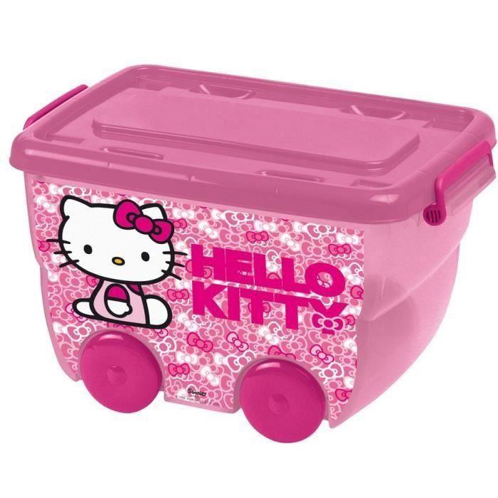 hello kitty bac de rangement 25 l achat vente boite de rangement les soldes sur. Black Bedroom Furniture Sets. Home Design Ideas