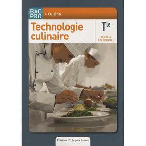 Technologie culinaire achat vente technologie - Referentiel cap cuisine ...
