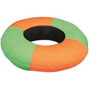 TRIXIE Anneau Aqua Toy flottant - 20 cm - Orange, vert et noir - Pour chien