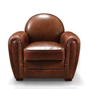 Fauteuil club authentique en cuir rose moore achat vente fauteuil r - Fauteuil en forme de rose ...
