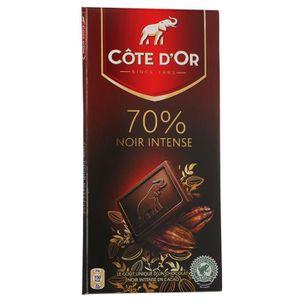 CHOCOLAT EN TABLETTE COTE d'OR Noir Intense 70% 100g (x1)