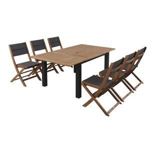 Ensemble table de jardin 14 personnes achat vente for Ensemble jardin bois
