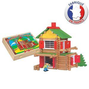 JEUJURA - Construction en bois - Mon Chalet en Bois 135 pièces