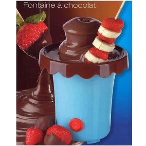 Fontaine à chocolat Bleu