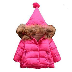 DOUDOUNE Bébé fille hiver coton manteau