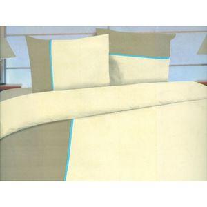 parure de lit 2 place achat vente parure de lit 2. Black Bedroom Furniture Sets. Home Design Ideas