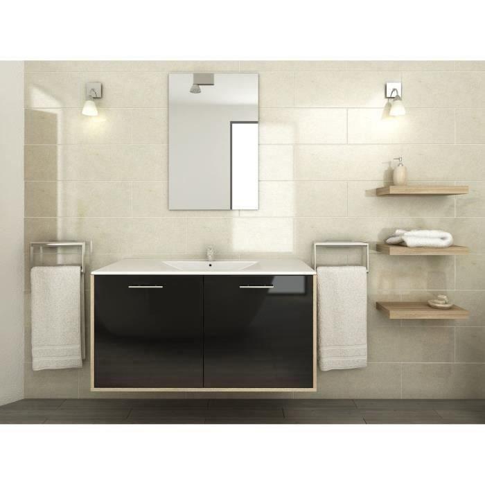 Mix ensemble salle de bain 100 cm achat vente ensemble for Ensemble meuble salle de bain cdiscount