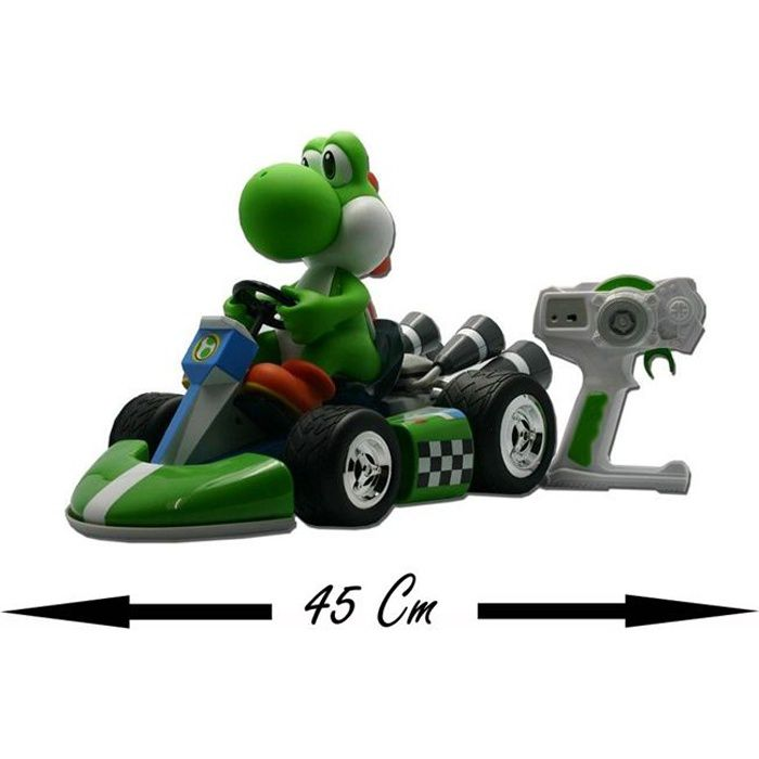 nintendo v hicule voiture radiocommand yoshi achat vente voiture camion cdiscount. Black Bedroom Furniture Sets. Home Design Ideas