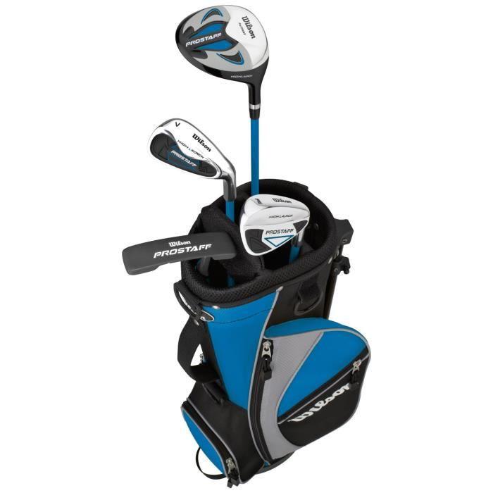 kit golf pour junior d butant ki prostaff 5 prix pas cher cdiscount. Black Bedroom Furniture Sets. Home Design Ideas