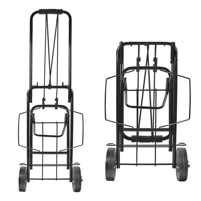 chariot de p che haute r sistance milestone noir 50 kg. Black Bedroom Furniture Sets. Home Design Ideas