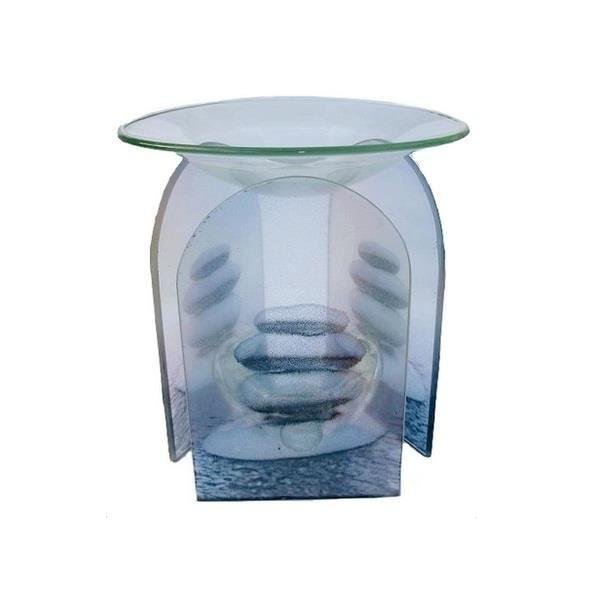 br le parfum en verre d co galets zen achat vente diffuseur de parfum verre soldes d t. Black Bedroom Furniture Sets. Home Design Ideas