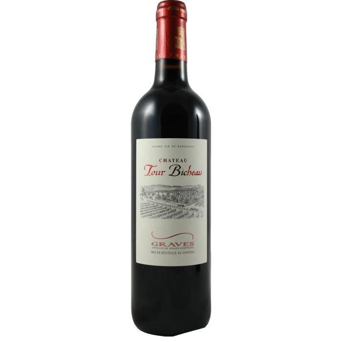 vin rouge ch teau tour bicheau graves bordeaux 2012 vin rouge achat vente vin rouge. Black Bedroom Furniture Sets. Home Design Ideas