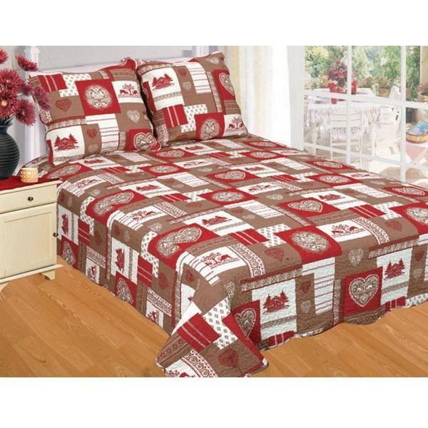 couvre lit boutis 2m30 x 2m50 zm144 achat vente jet e de lit boutis cdiscount. Black Bedroom Furniture Sets. Home Design Ideas