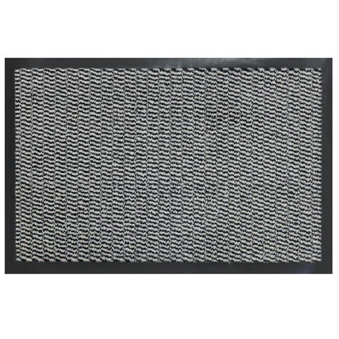 paillasson entr e anti salissures gris 40x60cm achat. Black Bedroom Furniture Sets. Home Design Ideas