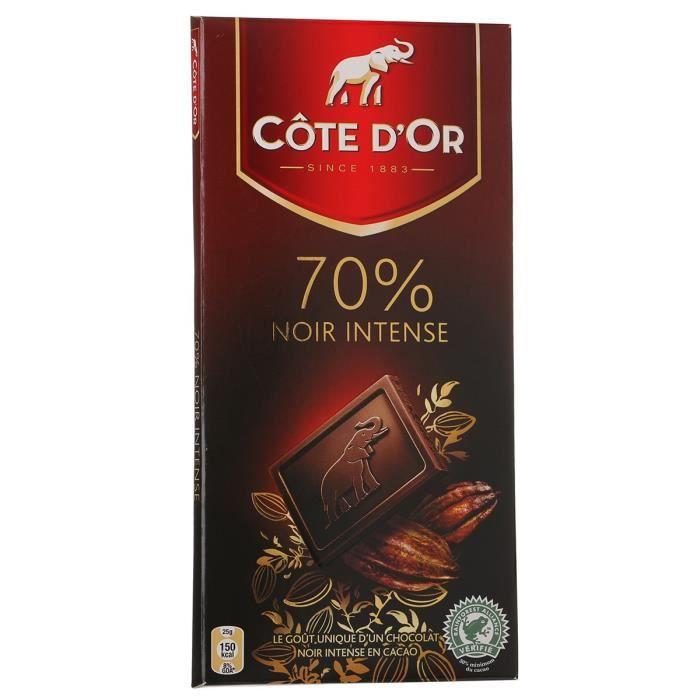 cote d 39 or noir intense 70 100g x1 achat vente chocolat en tablette cot or noir int70. Black Bedroom Furniture Sets. Home Design Ideas