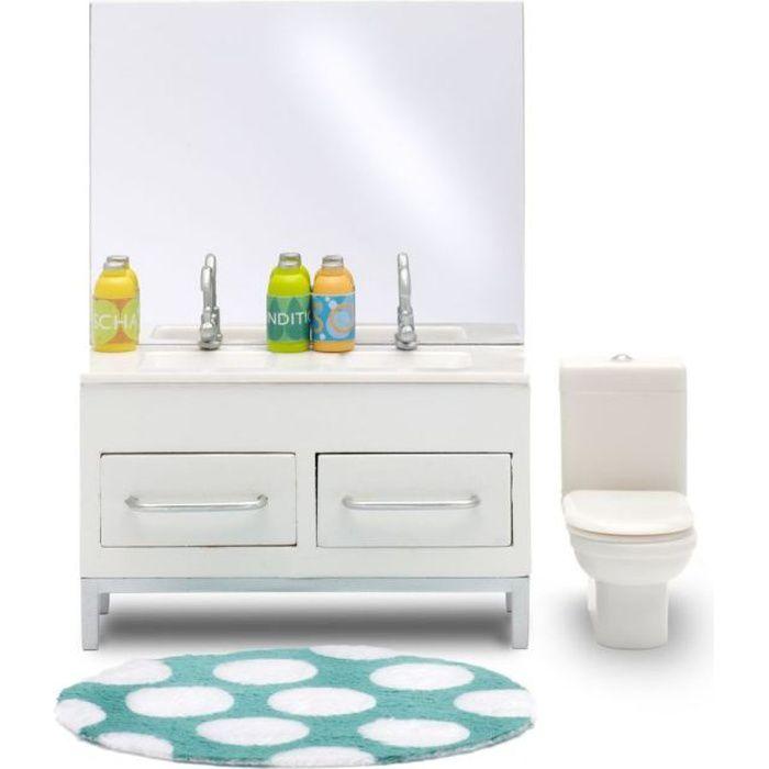 Lundby ensemble salle de bain pour maison poup e achat for Lot meuble ecureuil