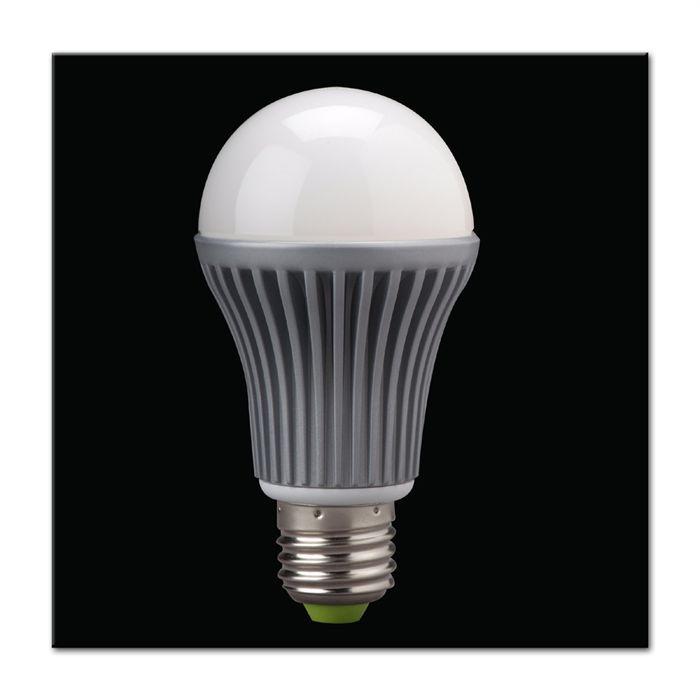 ampoule 7 9w dimmable e27 deluxe led on achat vente ampoule led acier les soldes sur. Black Bedroom Furniture Sets. Home Design Ideas