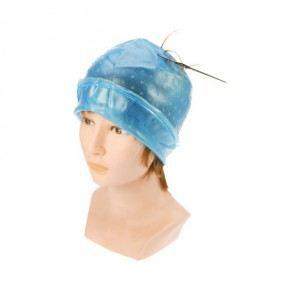 bonnet meche magicap bleu transparent achat vente coloration bonnet meche magicap bleu t. Black Bedroom Furniture Sets. Home Design Ideas