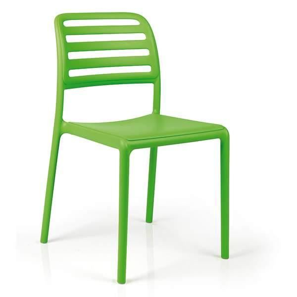 Chaise nardi costa bistrot vert achat vente fauteuil for Chaises bistrot pas cher