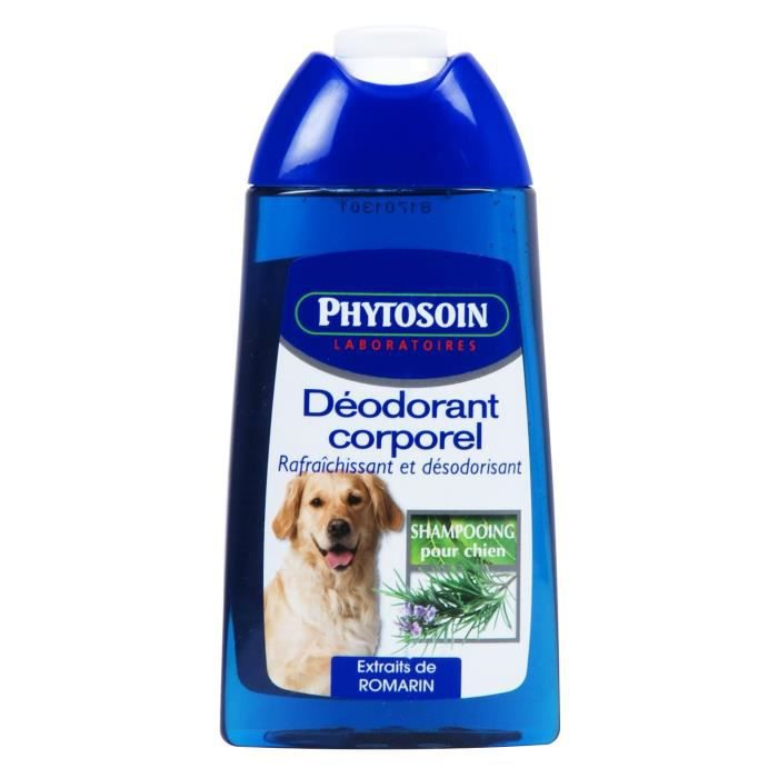 phytosoin shampooing d odorant corporel chiens achat vente shampoing masque shampooing. Black Bedroom Furniture Sets. Home Design Ideas