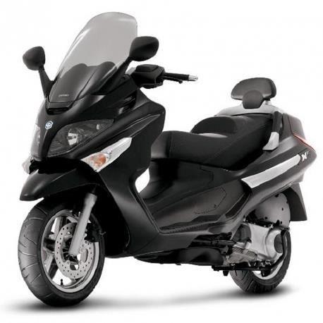 piaggio x evo 125cc noir brillant achat vente scooter. Black Bedroom Furniture Sets. Home Design Ideas