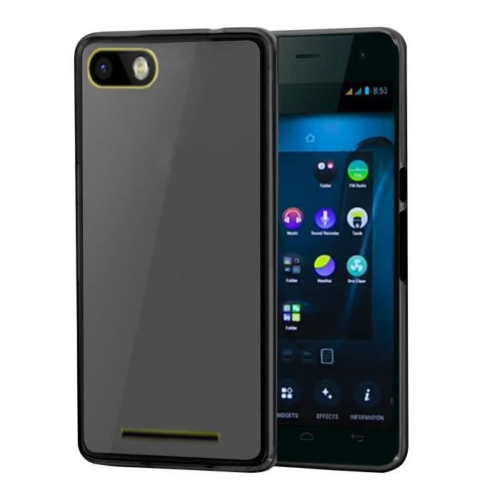 Coque gel tpu wiko lenny 3 grise housse pochette achat for Wiko lenny 3 housse