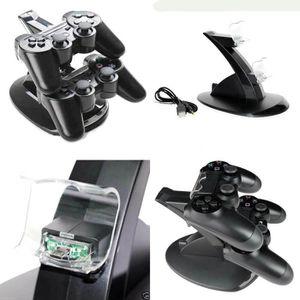 CHARGEUR CONSOLE Double socle de charge pour manettes PS4