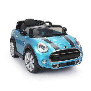 voiture electrique mini bleue pour enfant achat vente jeux et jouets pas chers. Black Bedroom Furniture Sets. Home Design Ideas