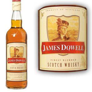 WHISKY BOURBON SCOTCH James Dowell 70cl Scotch whisky 70cl 40°