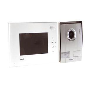 interphone video legrand achat vente interphone video legrand pas cher cdiscount. Black Bedroom Furniture Sets. Home Design Ideas
