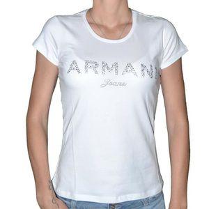 T-SHIRT Armani Jeans - T Shirt Manches Courtes - Femme - V