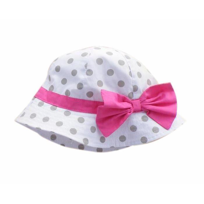 t b b fille casquettes coton chapeau de soleil pour 2 3 ans gros point d 39 onde achat vente. Black Bedroom Furniture Sets. Home Design Ideas