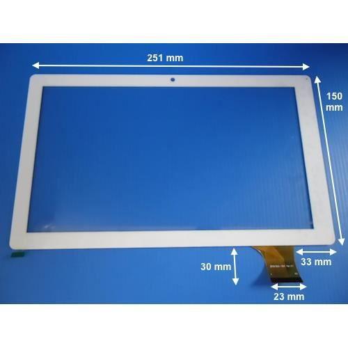 vitre tactile blanche 10 pour polaroid midc147p prix. Black Bedroom Furniture Sets. Home Design Ideas
