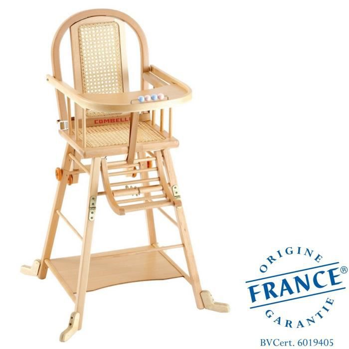 combelle chaise haute transformable naturel naturel achat vente chaise haute 3103941500008. Black Bedroom Furniture Sets. Home Design Ideas