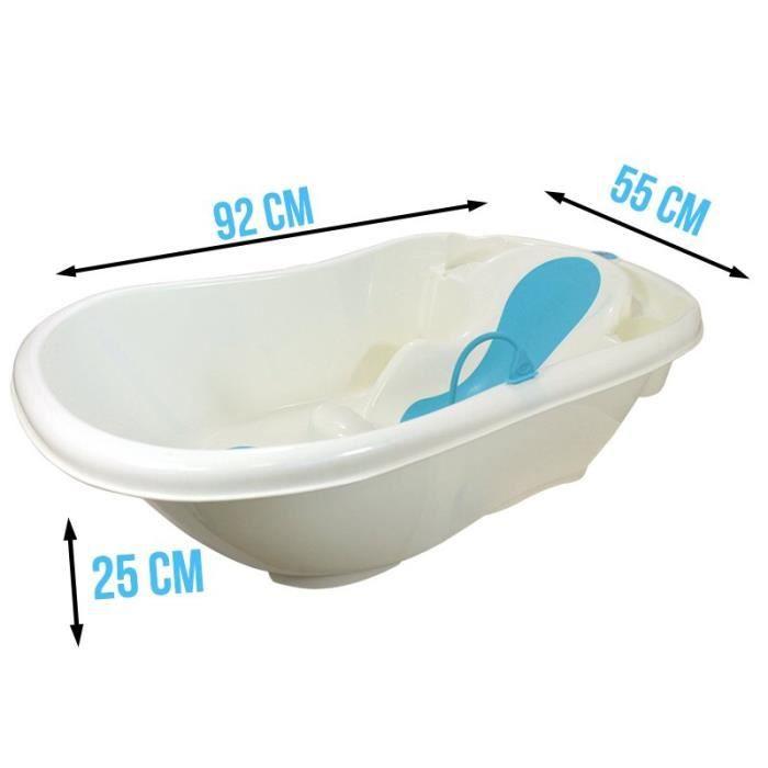 baignoire b b avec transat de bain vidange bleu achat. Black Bedroom Furniture Sets. Home Design Ideas