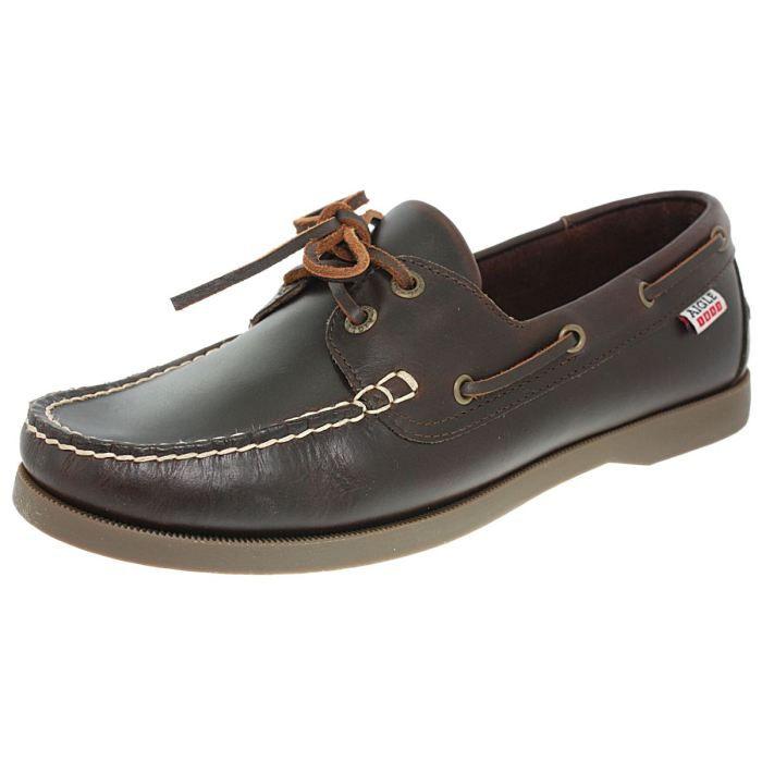 chaussures bateaux aigle america marron marron fonce achat vente bateaux cdiscount. Black Bedroom Furniture Sets. Home Design Ideas