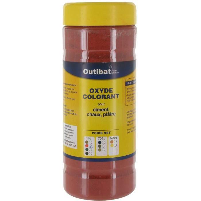 ciment bton colorant ciment synthtique outibat rouge - Colorant Beton
