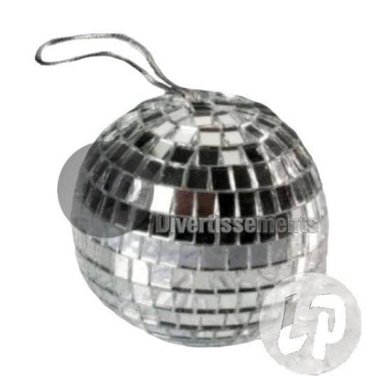 Boule disco facettes taille 7cm achat vente boule a facettes boule disc - Ampoule boule a facette ...