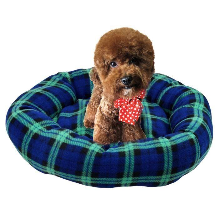 tarion lit panier corbeille matelas rond en flanelle 40x40x15cm pour chat chien chiot achat. Black Bedroom Furniture Sets. Home Design Ideas
