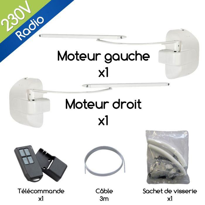 Kit motorisation volet battant BRA VO radio 230? Achat / Vente
