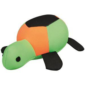 TRIXIE Tortue Aqua Toy flottante - 20 cm - Orange, vert et noir - Pour chien