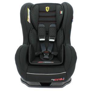 SIÈGE AUTO - RÉHAUSSEUR Siège auto ISOFIX FERRARI 9/18 kg avec protections