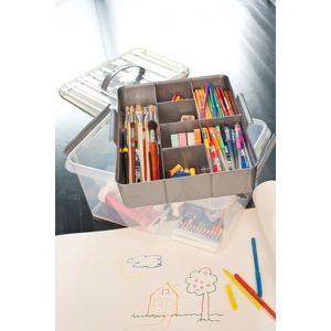 grande boite de rangement multifonctions avec achat vente boite de rangement plastique. Black Bedroom Furniture Sets. Home Design Ideas